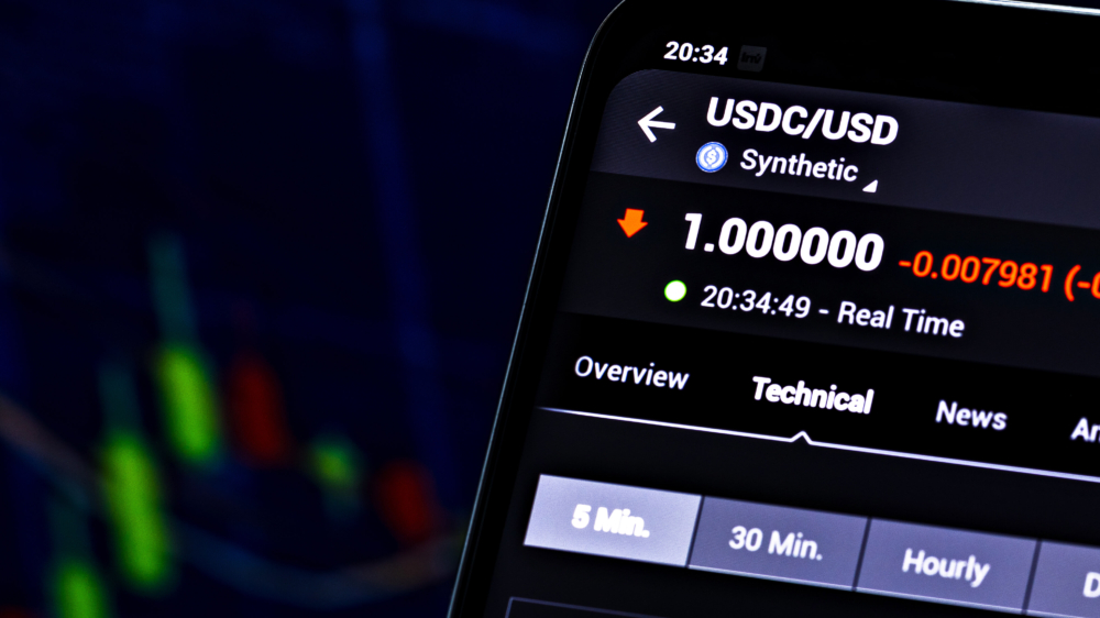 USDC USD Coin stablecoin cryptocurrency